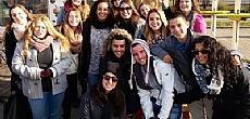 משלחת תלמידי בליך בביקור הסברה במוסקבה